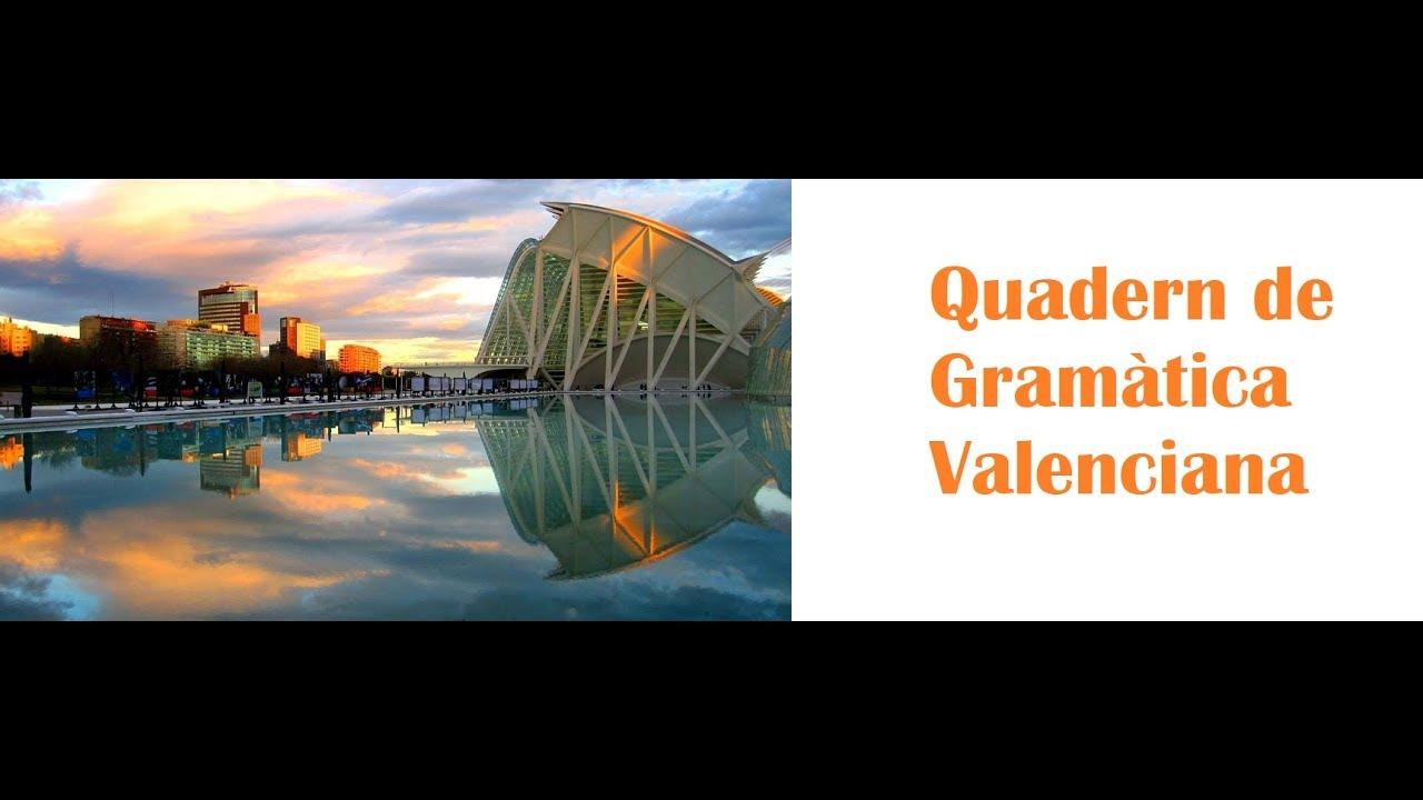Gramàtica valenciana