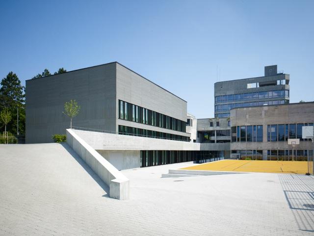 Neubau Sporthallen Gymnasium Liestal
