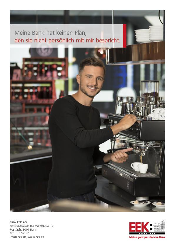 Make-up & Hairstyling EEK Bank - photo: Remo Neuhaus