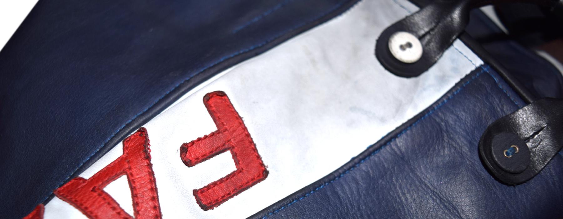 de curae | Candyman Racing Suit, pants detail – Thorsten Schlesinger