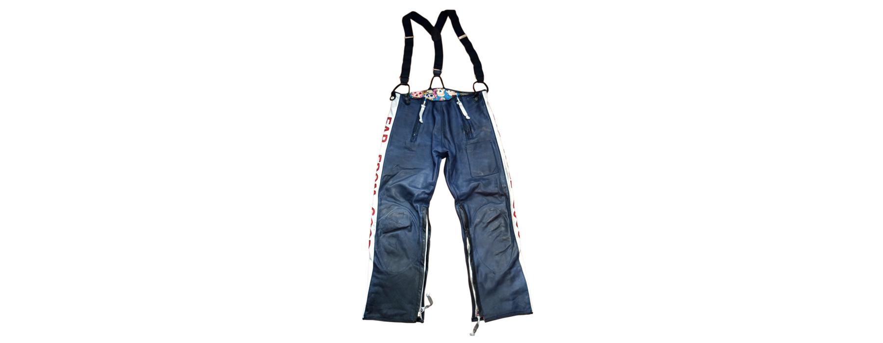 de curae | Candyman Racing Suit, pants front – Thorsten Schlesinger
