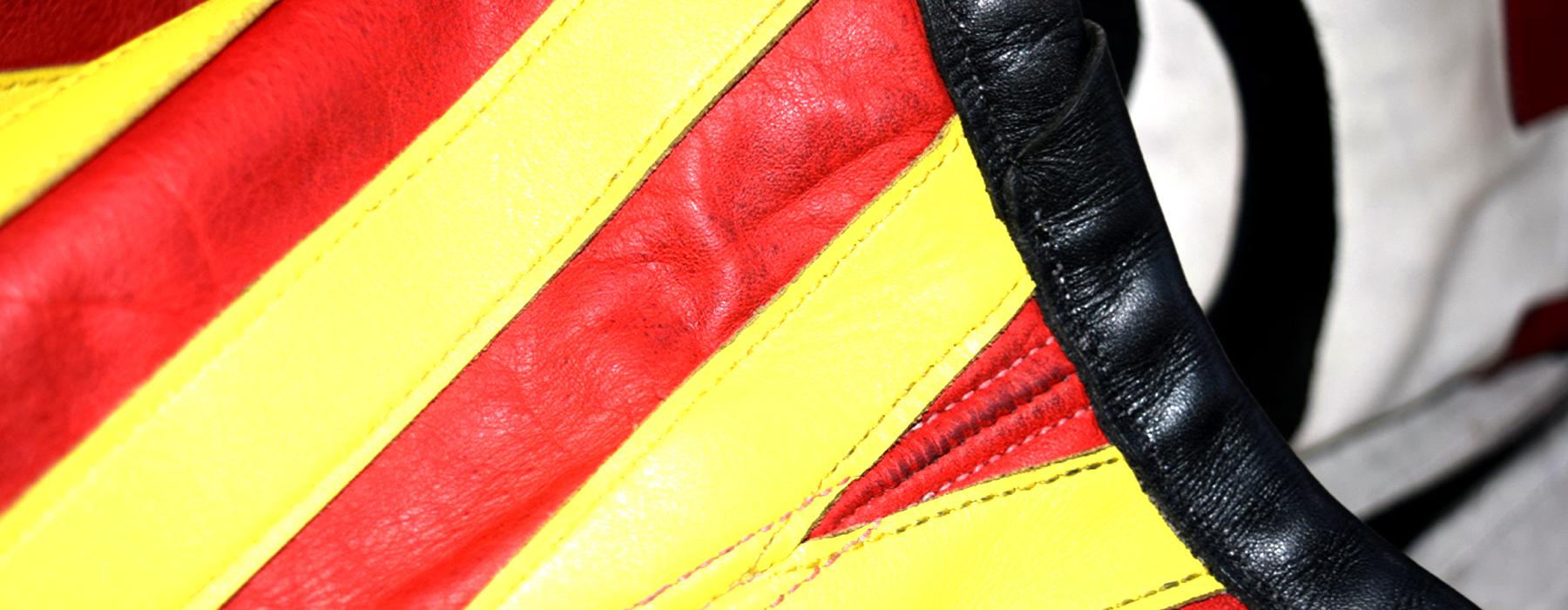 de curae | Candyman Racing Suit, vest both sides detail – Thorsten Schlesinger