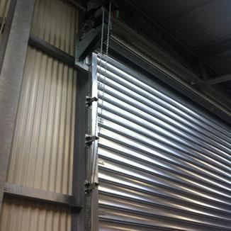 <h3>Rideaux métalliques galvanisés</h3>