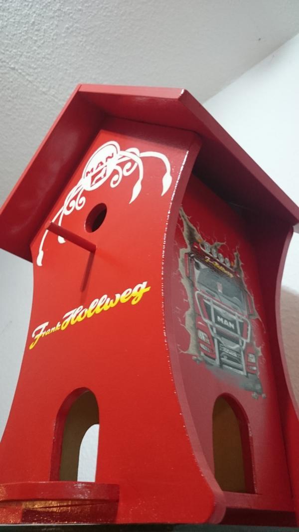 Vogelhaus VogelVilla Unikat Handarbeit 1a-handarbeit Kundenwunsch Design