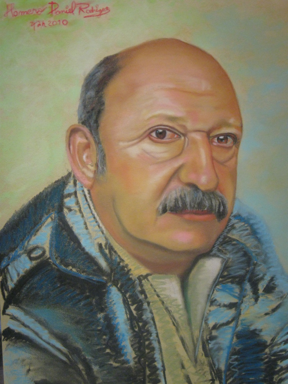 """My Father""  -Soft Pastel-"