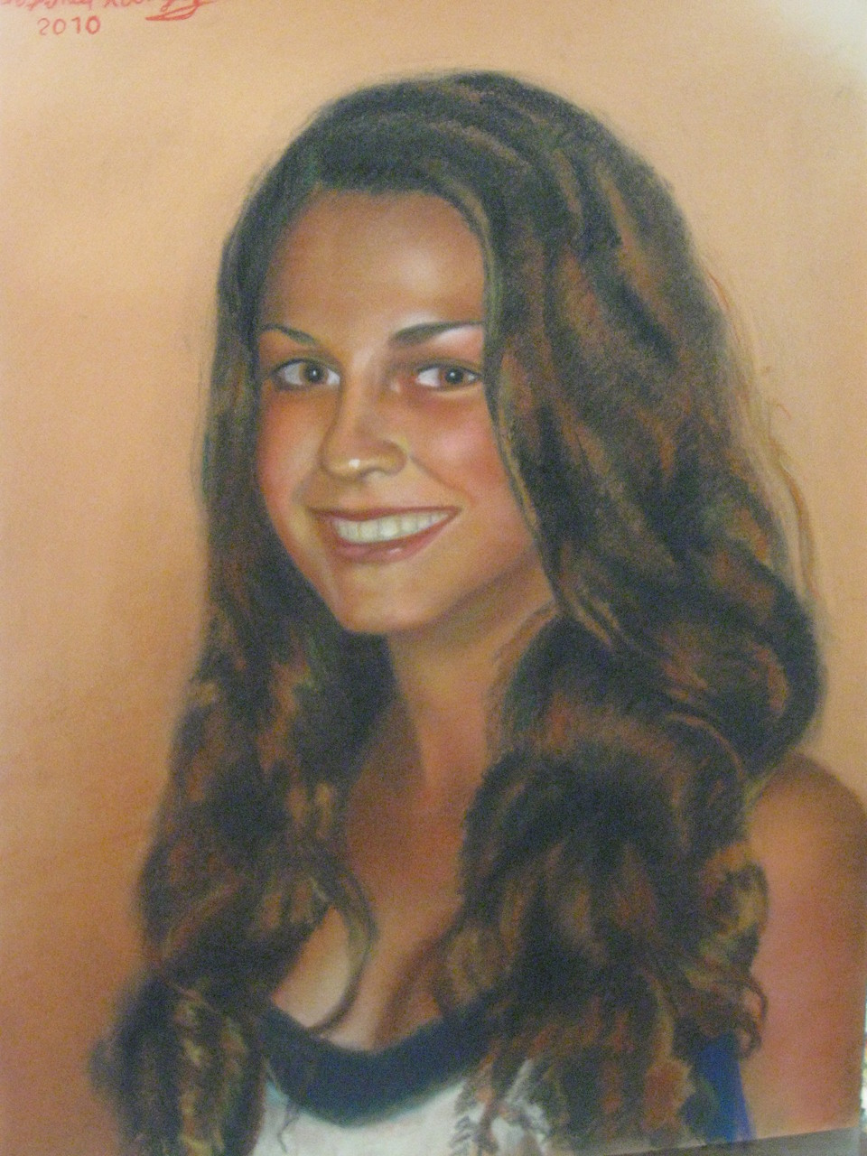 """Young Lady""   - Soft Pastel-"