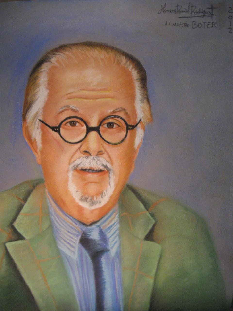 Maestro Fernando Botero  - Soft Pastel-