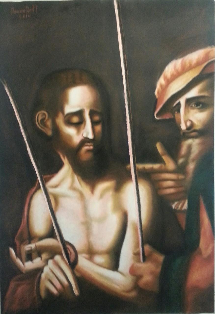 """""""Ecce Homo"""" by Luis Morales (1509 - 1586 )"""