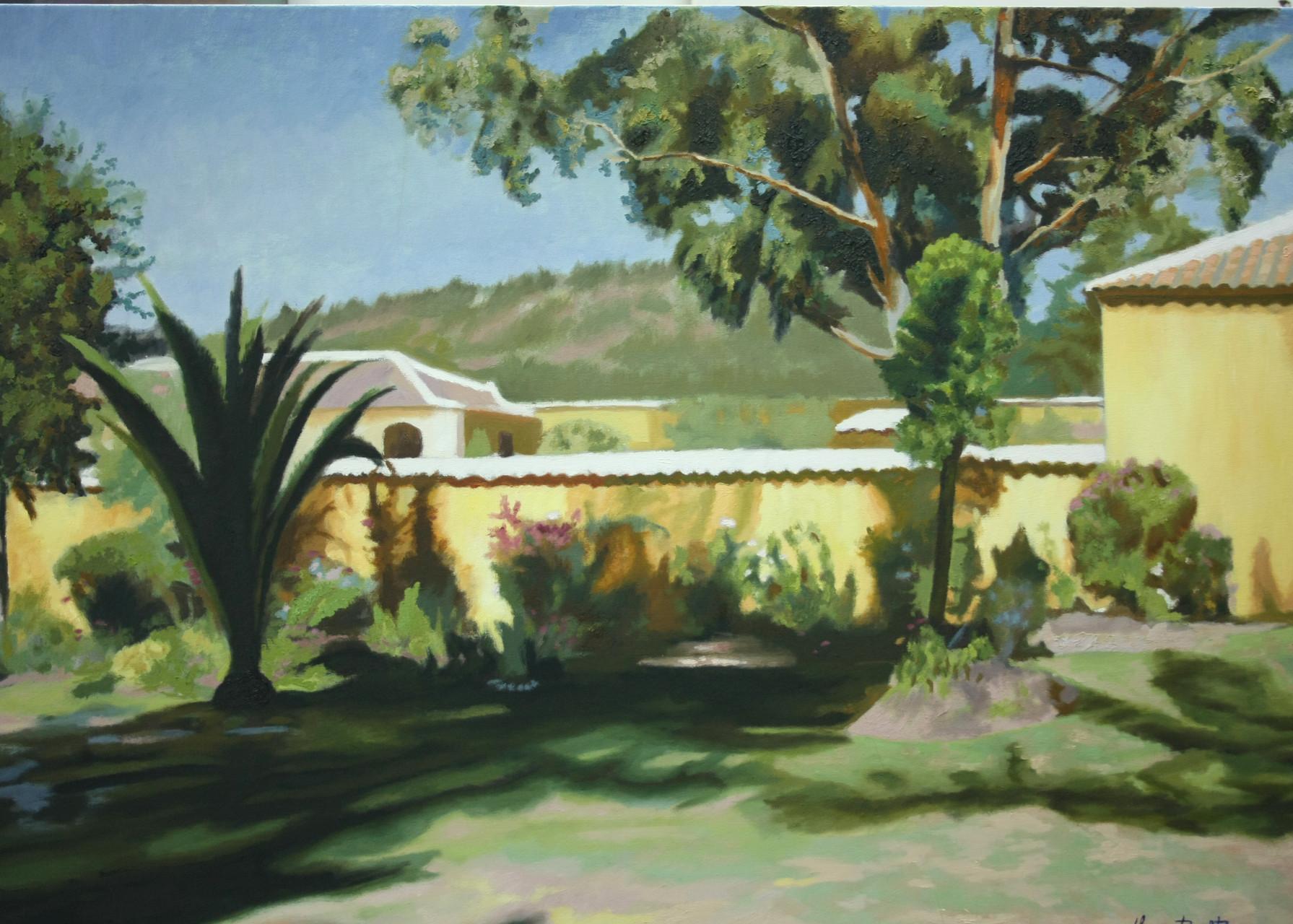 """Oil on Canvas  """"La Casona del Salitre"""""""