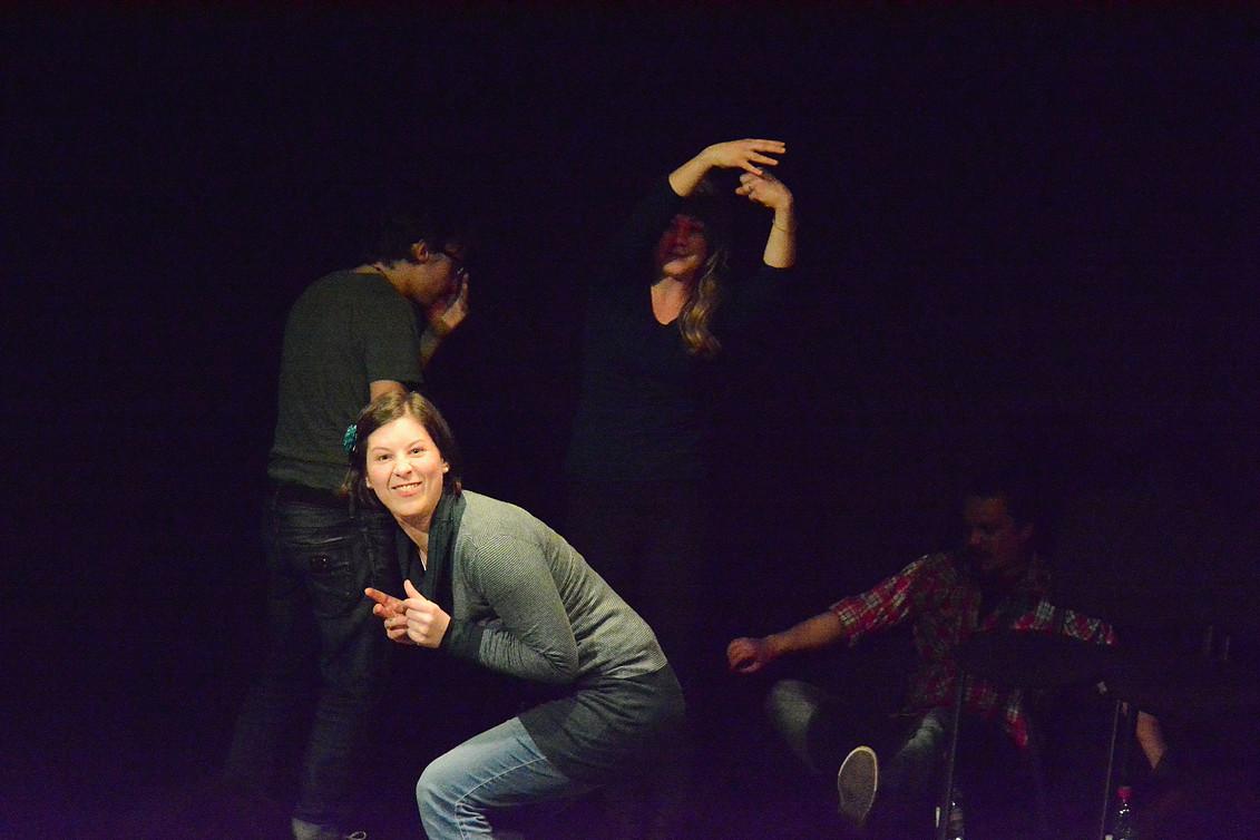 """""""Das Erwachen der Macht"""" - Freies Theater Innsbruck - Foto: Elisabeth Köll (2016)"""
