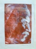 Mein Porträt von  Prof. Jiri Harcuba , Prag Glasporträtgaveure