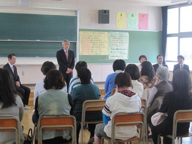 教育長さんからも温かいお言葉をいただき、いよいよ意欲が高まります、