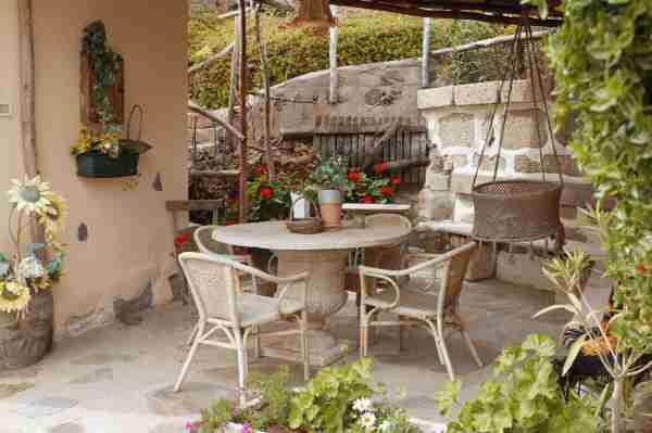 KLeines Ferienhaus mit Pool auf einer Finca in Guia de Isora auf Tenerife