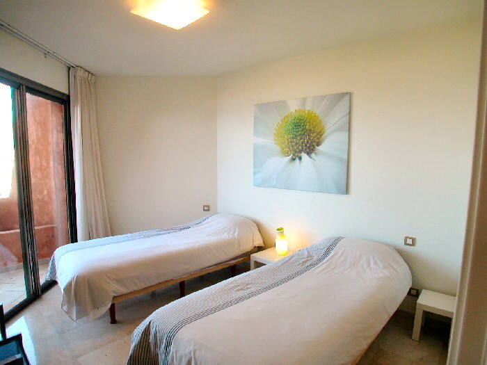 2.Schlafzimmer ist mit 2 Einzelbette