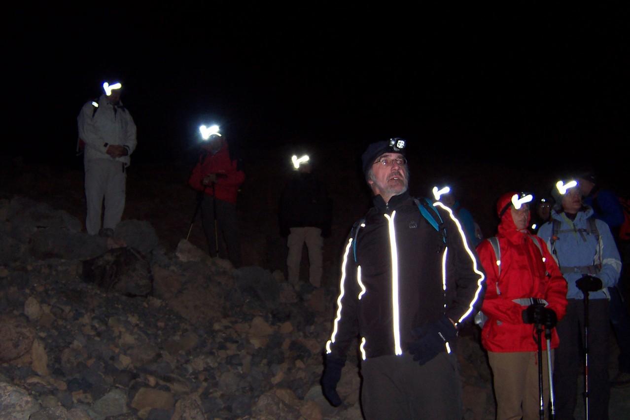 Nachtwanderung auf den Teide