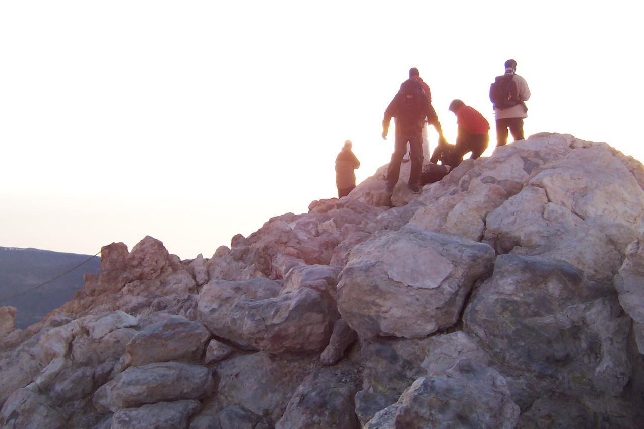 Gipfel des Teide, eine Wanderung bis auf 3.718 Meter.