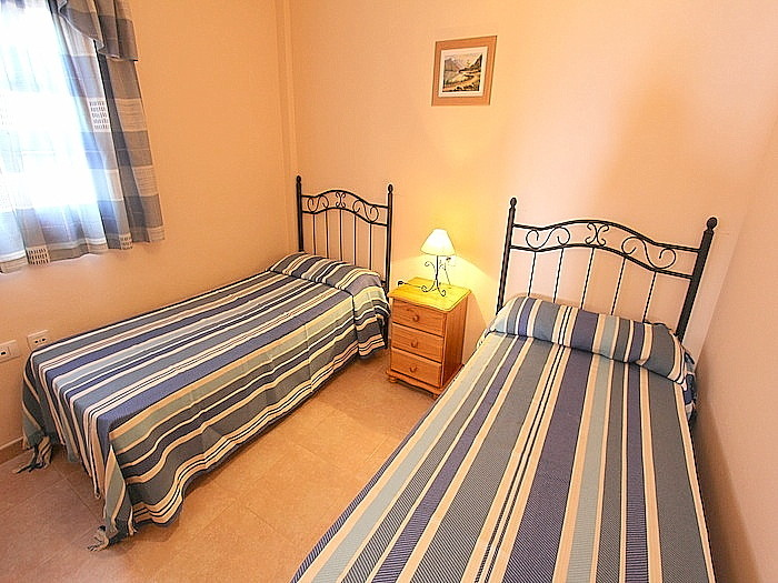 Schlafzimmer in der Nebenwohnung