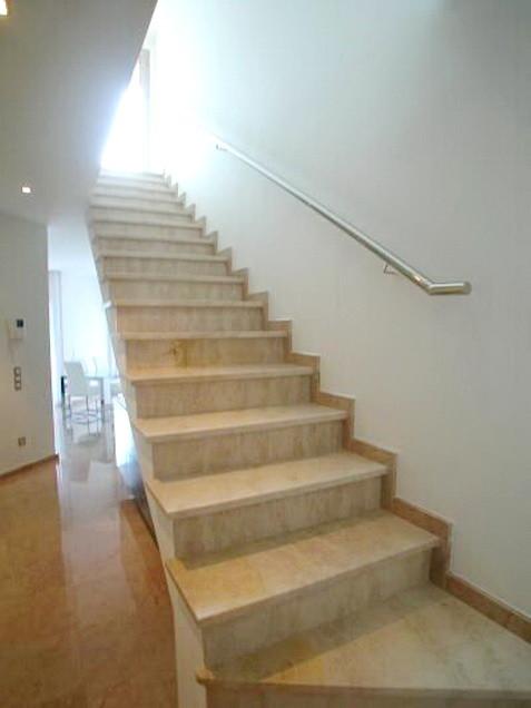 Treppe zur Suite