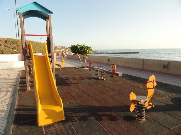 Spielplatz an der Strandpromenade
