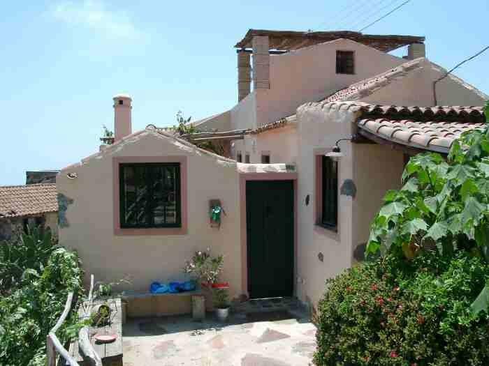 Casa Verde ein romantisches ferienhaus auf der Finca Palo Alto in Guia de Isora auf Tenerife mit Pool und Whirlpool