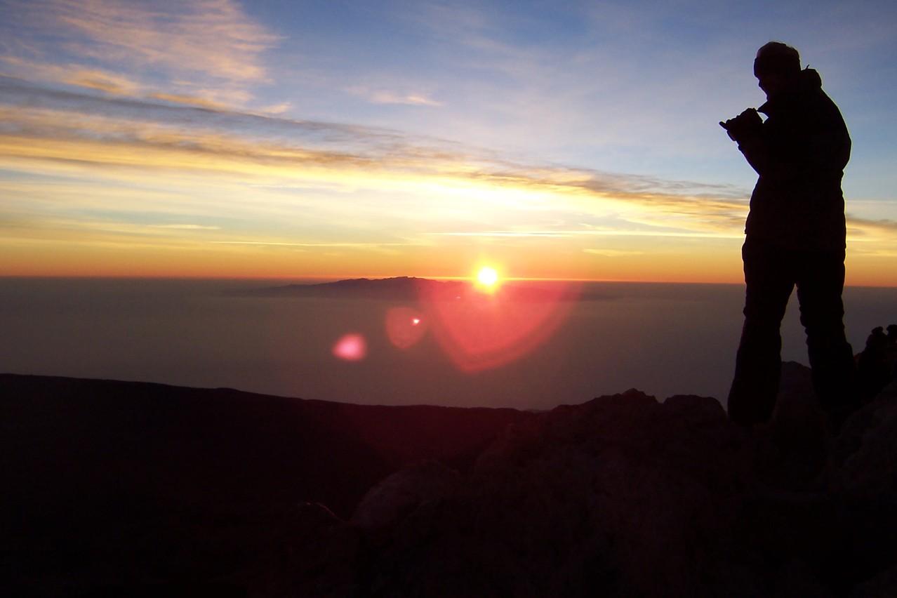 Sonnenaufgang auf dem Teide ein Urlaubsereignis