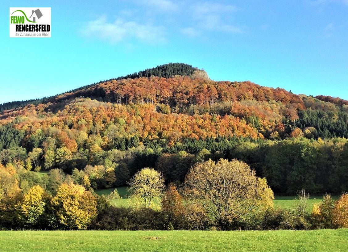 Der Reesberg im Herbstkleid