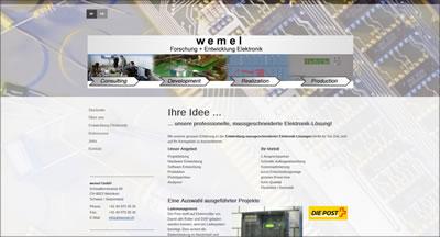 wemel.ch, Martin Weidmann, Wtzikon - Entwicklung massgeschneiderter Elektronik-Lösungen
