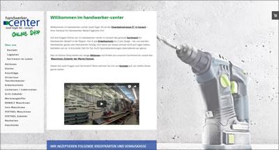 Handwerker-Center-Shop von Josef Giger AG, Uznach