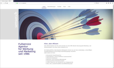 Sensor Marketing AG, Fullservice-Agentur für Werbung und Marketing, Stäfa