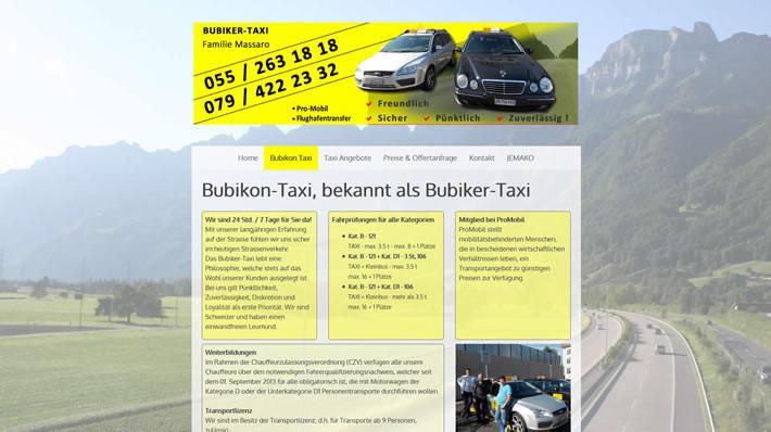 Bubikon-Taxi - auch bekannt als Bubiker-Taxi