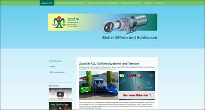 Zausch AG, Eschenbach und Rapperswil-Jona