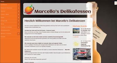 Marcellos Delikatessen Online-Shop, Wagen