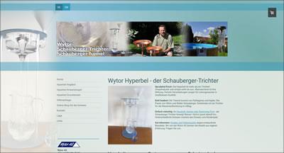 Hyperbel, Schauberger Trichter von Wytor AG, Laupen