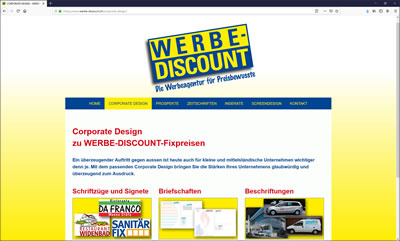 WERBE-DISCOUNT, Stäfa - Professionelle Werbung zu günstigen Fix-Preisen!