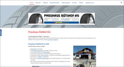 Pneuhaus Rütihof AG Rapperswil-Jona und Rüti ZH