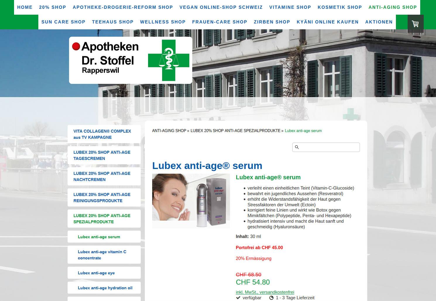 Apotheken Dr. Stoffel, Rapperswil