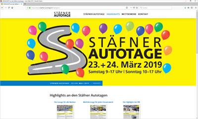 Stäfner Autotage vom 23. + 24. März 2019