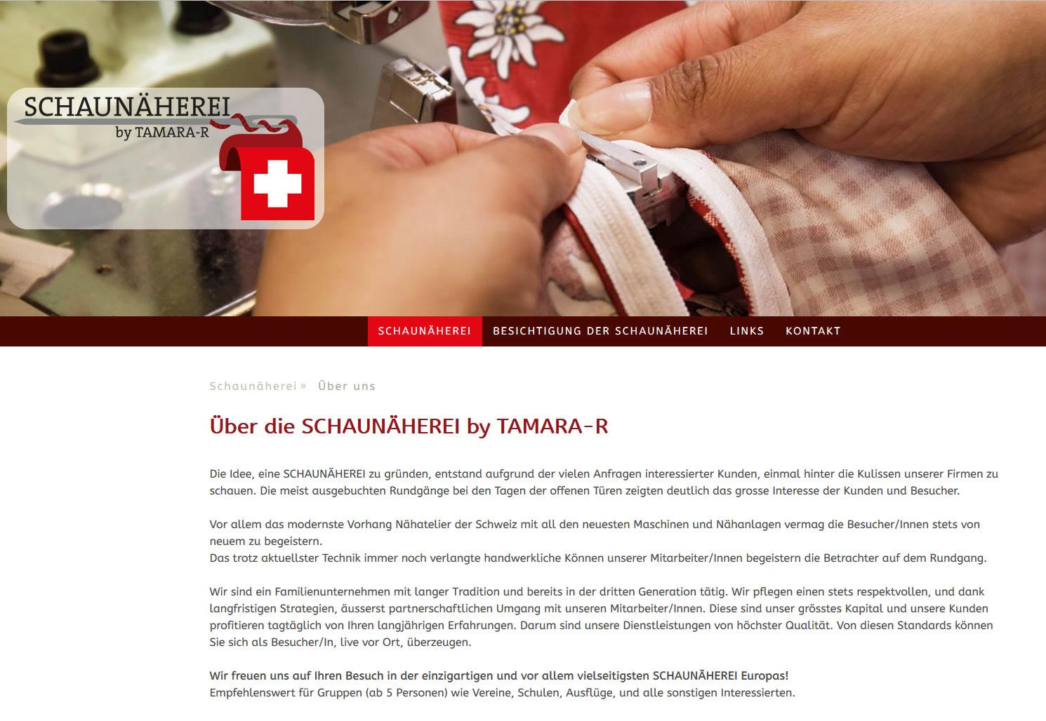 SCHAUNÄHEREI by TAMARA-R, Schübelbach