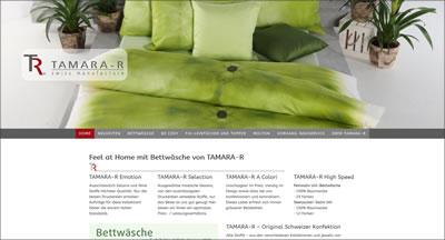 TAMARA-R, Schübelbach - Bettwäsche - Original Schweizer Konfektion