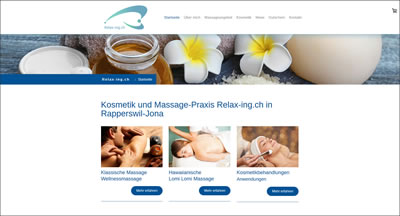 Massage-Praxis Relax-ing.ch in Jona-Rapperswil - Sabine Mathys