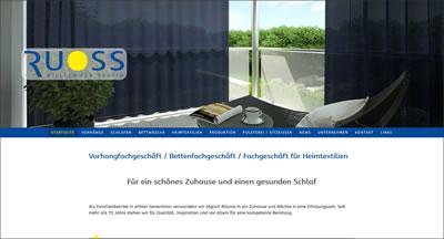ROBERT RUOSS & CO. AG Vorhang- und Bettwarenfachgeschäft
