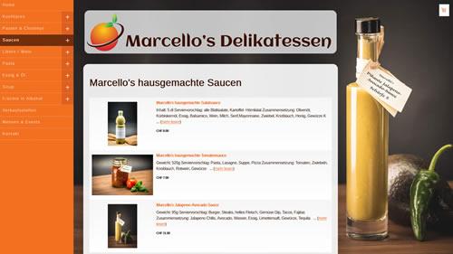 Marcello's Delikatessen, Wagen SG