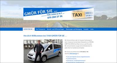 Taxitransporte.ch - GMÜR FÜR SIE...