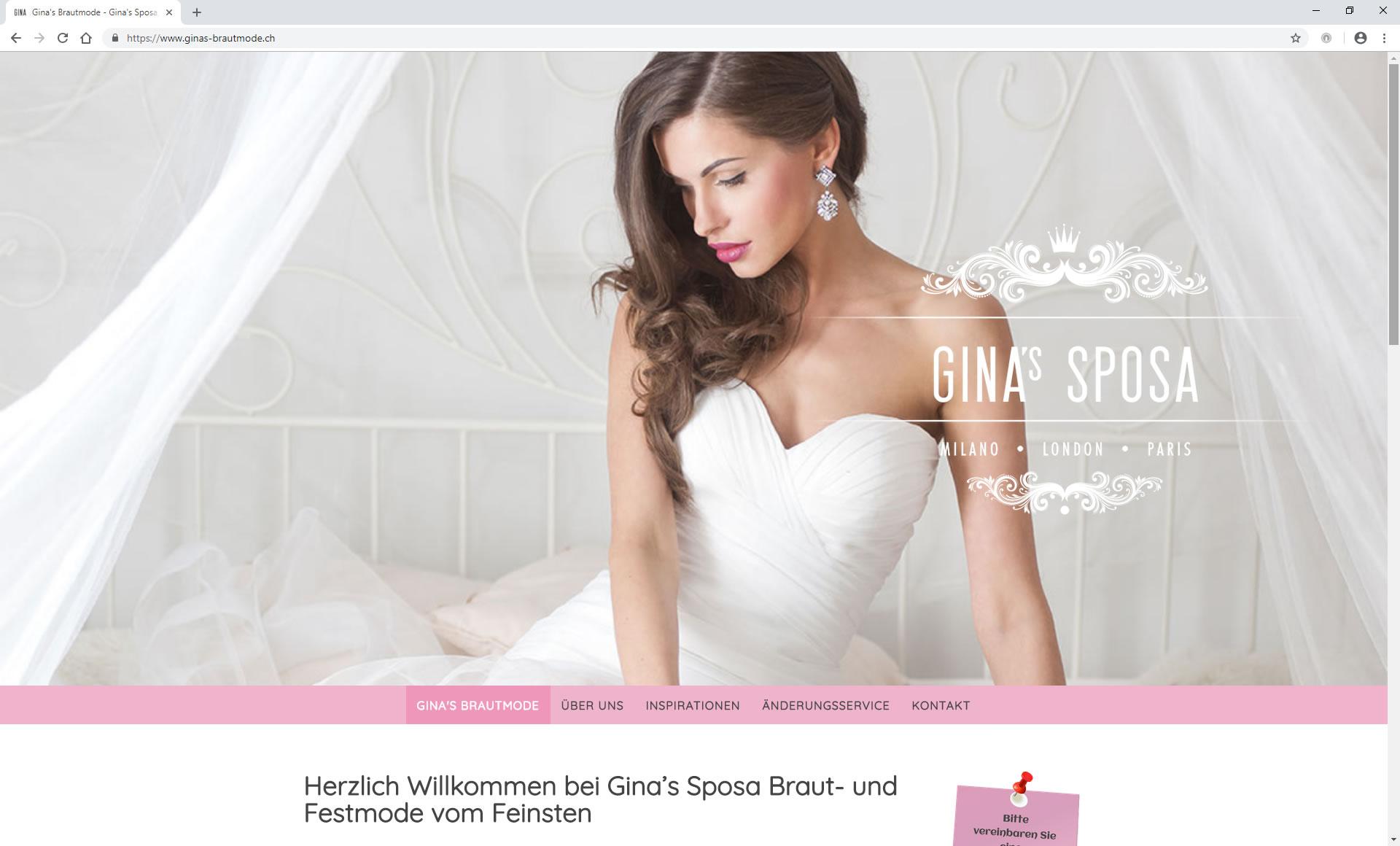 Gina's Braut- und Festmode, Rapperswil-Jona