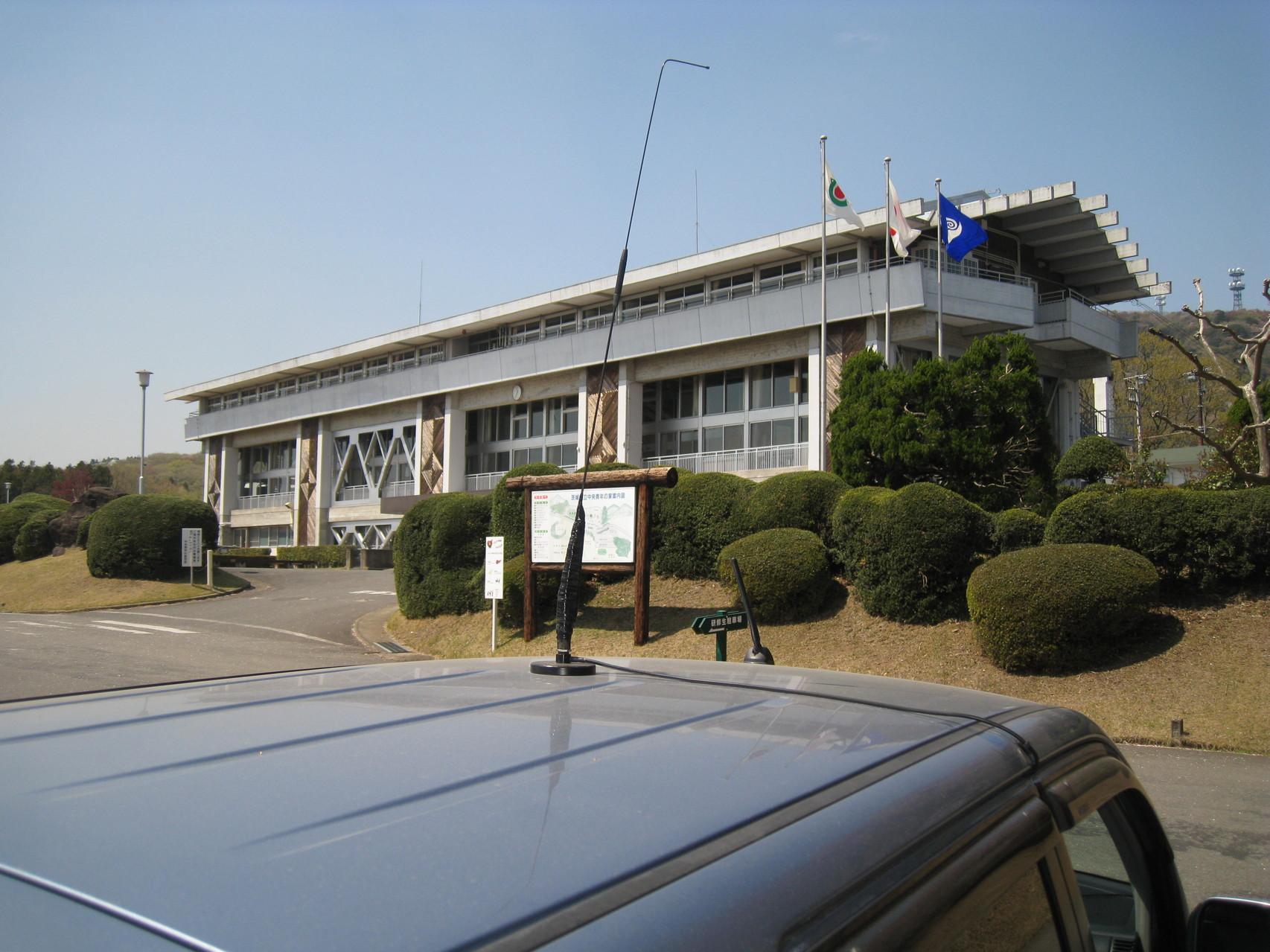 筑波山移動時の写真(モービルホイップ)