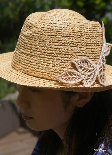 ◆ラフィアブレード 大人HAT  【2014s02-Hat】
