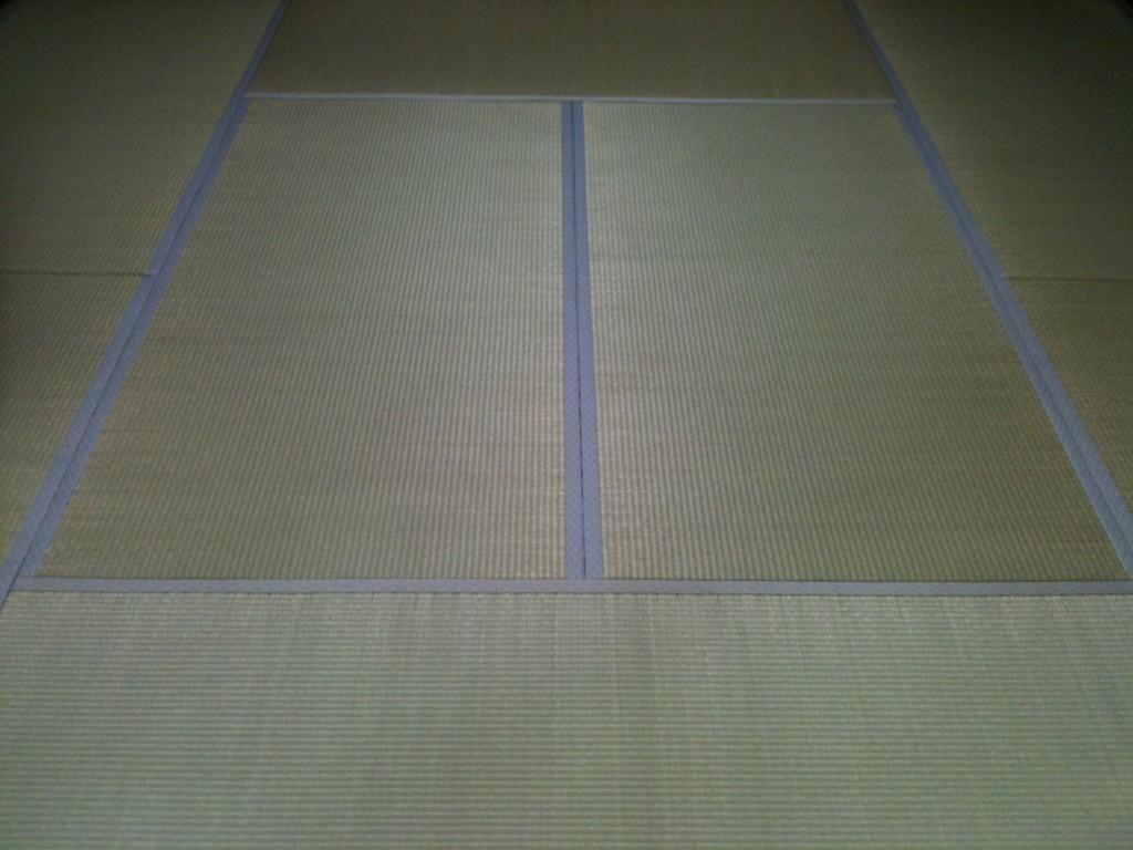 宇都宮市のお客様宅施工例。。アオ畳表畳。