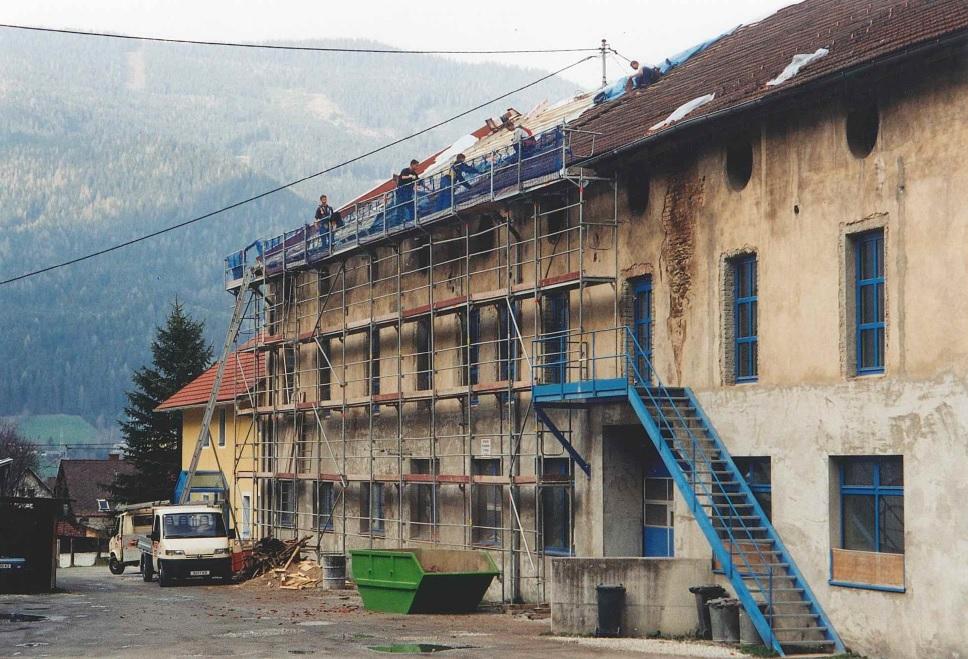 Ersteigerung der ehemaligen Pappenfabrik Trieben