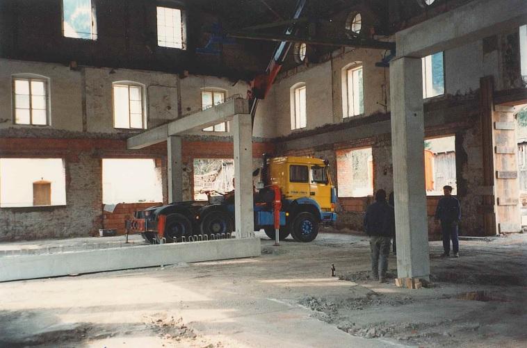Gründung der TMG Metallbau GesmbH Trieben (4.Februar 1994)