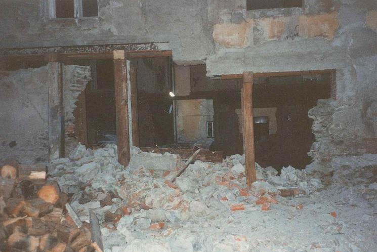 Ersteigerung der ehemaligen Pappenfabrik Trieben (12. Jänner 1994)